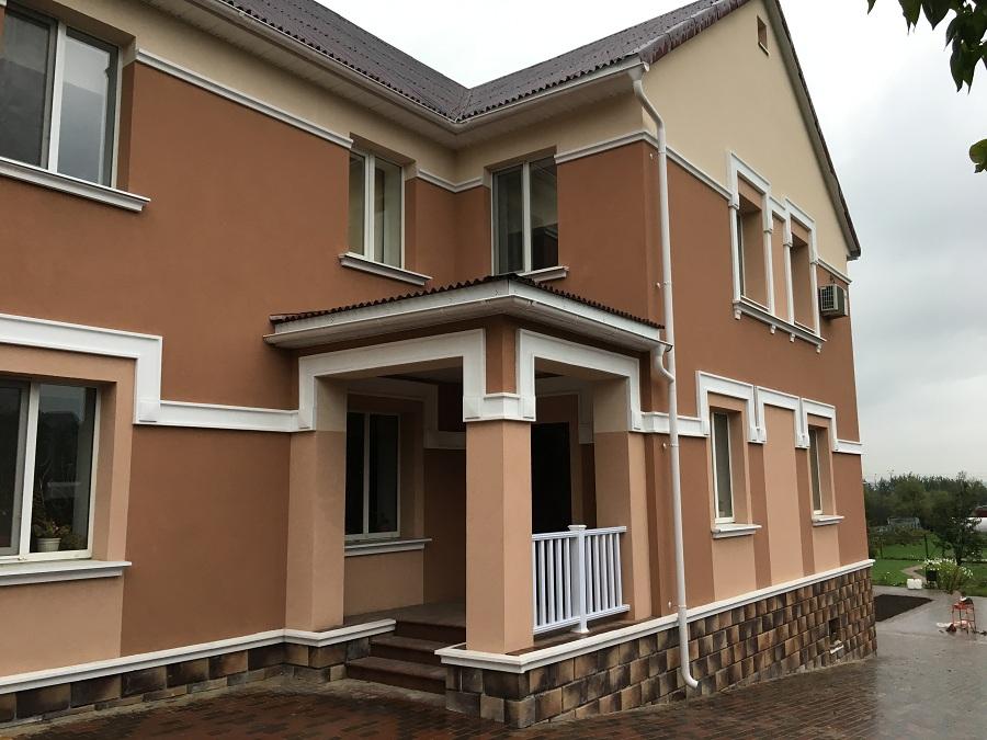 Утепление и штукатурная отделка фасадов домов в Чулково (Московская область), фото 4