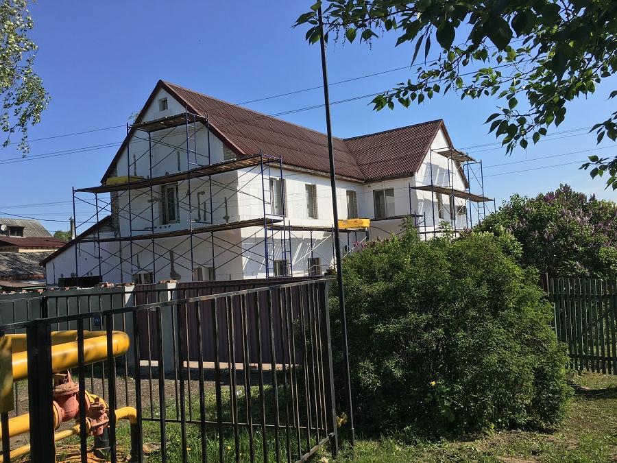 Утепление и штукатурная отделка фасадов домов в Чулково (Московская область), фото 8