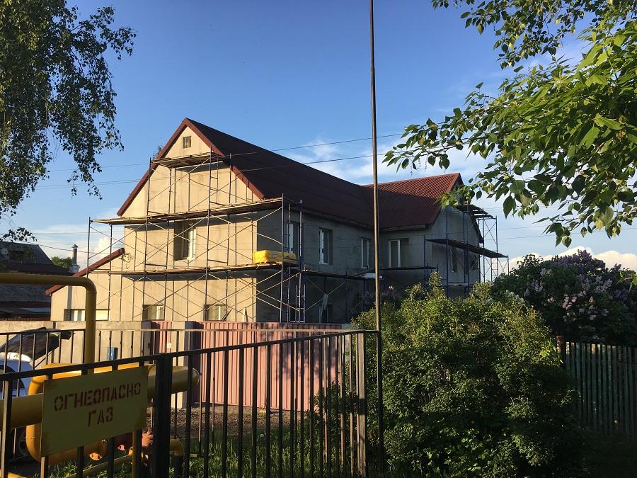 Утепление и штукатурная отделка фасадов домов в Чулково (Московская область), фото 9
