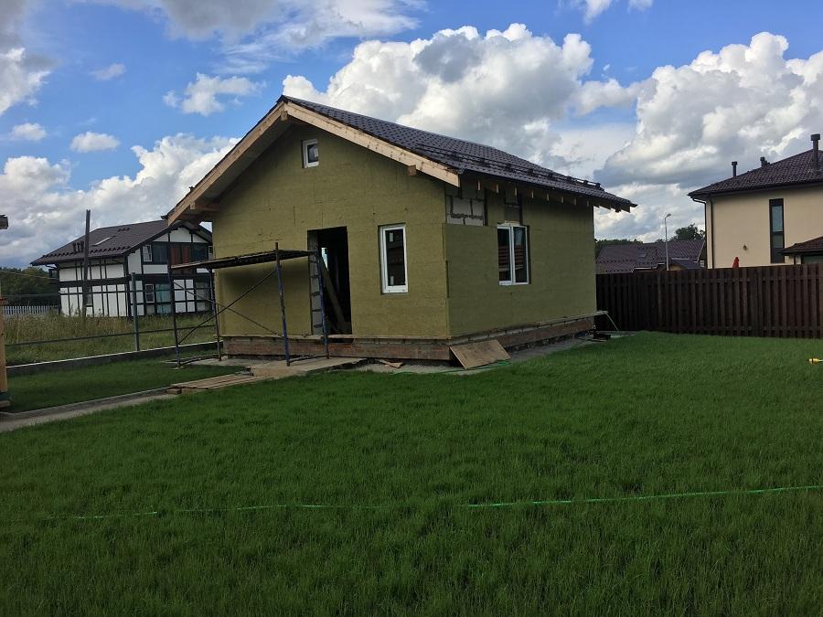 Отделка двухэтажного жилого дома в коттеджном поселке Фламандия (Московская область), фото 8