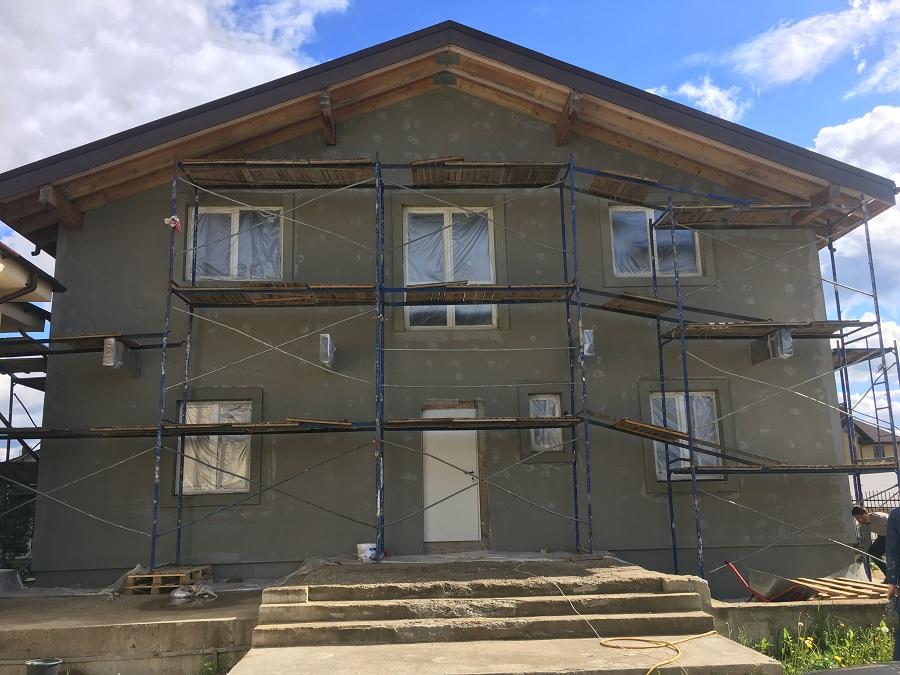 Утепление и оштукатуривание блочного дома в Новоглагольево, фото 9