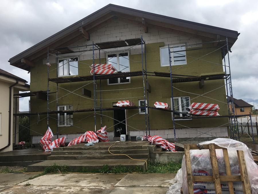 Утепление и оштукатуривание блочного дома в Новоглагольево, фото 4