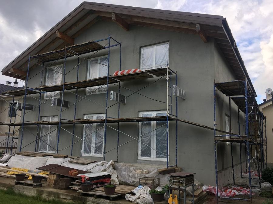 Утепление и оштукатуривание блочного дома в Новоглагольево, фото 7