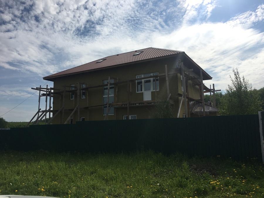 Утепление и штукатурная отделка блочного коттеджа в Заворово (МО), фото 3